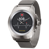 MyKronoz ZeTime 44mm Smartwatch Elite Zilver