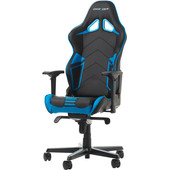 DX Racer RACING PRO Gaming Chair Zwart/Blauw