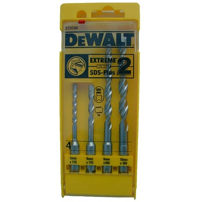 DeWalt 4-delige Hamerborenset SDS-plus 5,6,8 en 10 mm