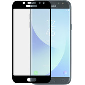 Azuri Samsung Galaxy J3 (2017) Screenprotector Gehard Glas Zwart