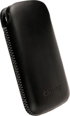 Krusell Leather Case Donso Black Medium