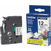 Brother TZ-231 Label Zwart op Wit (12 mm x 8 m)