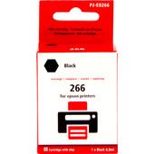 Huismerk 266 Zwart voor Epson (C13T26614010)