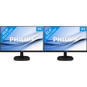 Philips 243V7QDAB Duo set-up