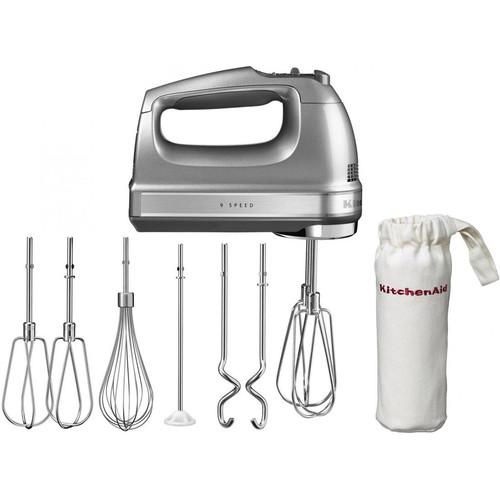 KitchenAid 5KHM9212ECU Handmixer Zilver