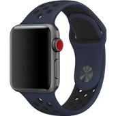 Apple Watch 38mm Polsband Nike Sport Obsidiaan/Zwart