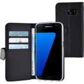Azuri Wallet Magneet Samsung Galaxy S7 Book Case Zwart