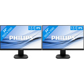 Philips 243S7EHMB/00 Duo set-up