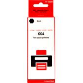 Huismerk T6641 Zwart voor Epson EcoTank (C13T664140)