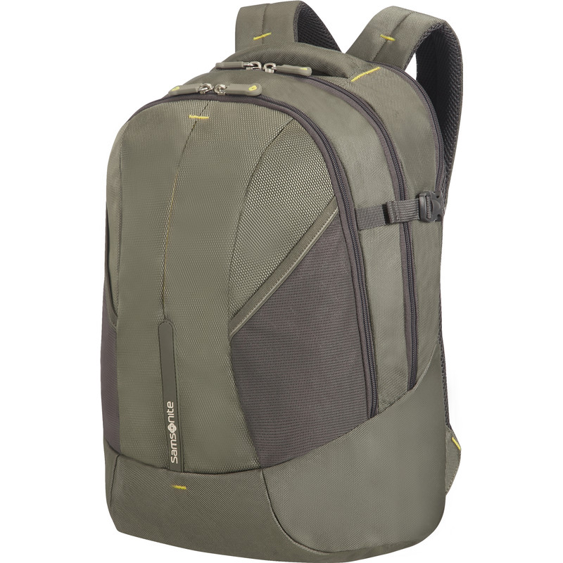 Samsonite 4Mation Laptop Backpack M Olive-Yellow