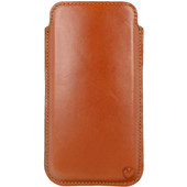 Valenta Pocket Premium Apple iPhone X Pouch Bruin