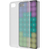 Azuri Glossy TPU Alcatel A5 LED Back Cover Transparant