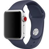 Apple Watch 38mm Polsband Sport Middernachtblauw