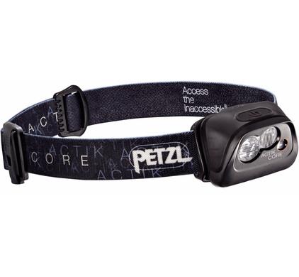 Petzl Actik 350 Zwart + Oplaadbare Batterij