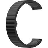 Just in Case Samsung Gear Sport Metalen Horlogeband Zwart