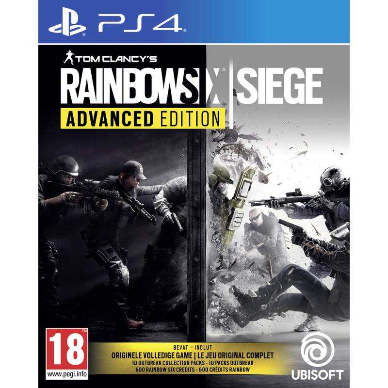 Ubisoft Tom Clancy's Rainbow Six: Siege (Advanced Edition) PS4 (300098847)
