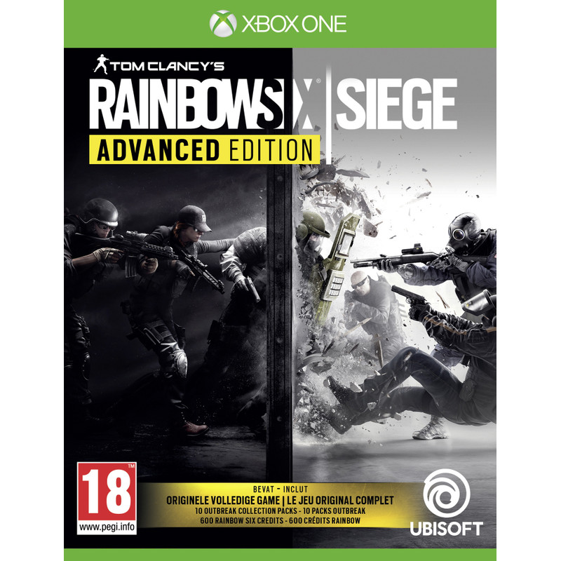Ubisoft Tom Clancy's Rainbow Six: Siege (Advanced Edition) Xbox One (300098912)