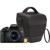 Starterskit - Canon EOS 750D + 18-55mm + Geheugenkaart + Tas + UV Filter