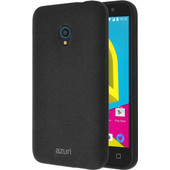 Azuri Flexible Sand Alcatel U5 Back Cover Zwart