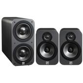 Q Acoustics 3010 2.1 set zwart