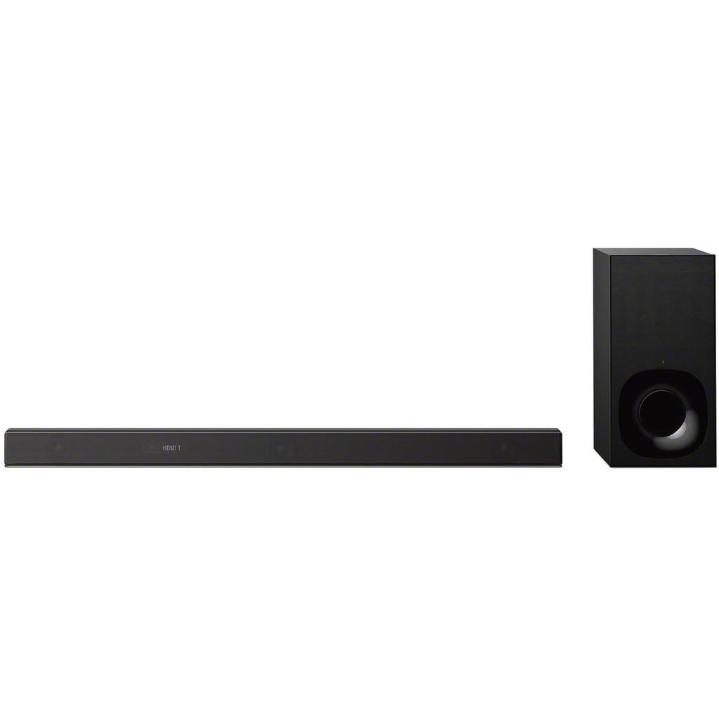 Sony HT-ZF9 Soundbar Bluetooth, Dolby Atmos, High-Resolution Audio, Incl. draadloze subwoofer, Multi