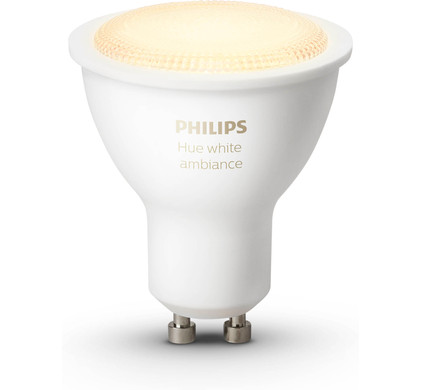 philips hue white ambiance gu10 single pack coolblue alles voor een glimlach. Black Bedroom Furniture Sets. Home Design Ideas
