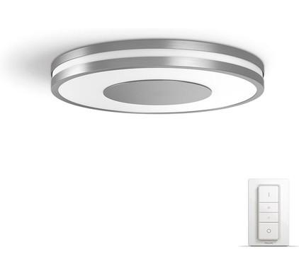philips hue being plafondlamp aluminium coolblue alles voor een glimlach. Black Bedroom Furniture Sets. Home Design Ideas