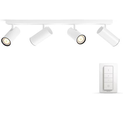 Philips Hue Buratto 4-Spot Wit met Dimmer