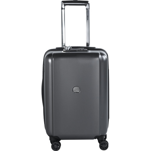 Delsey Pluggage Cabin Size Trolley 55 cm Antraciet