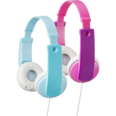 JVC HA-KD7 Set Blauw + Roze
