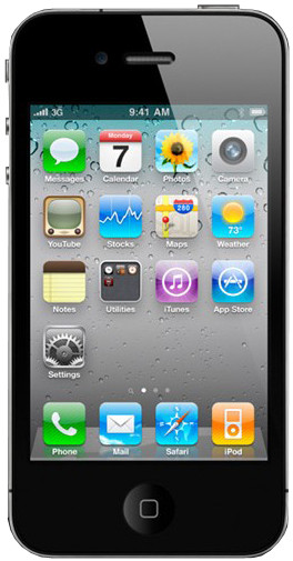 Apple iPhone 4 8 GB Black T-Mobile