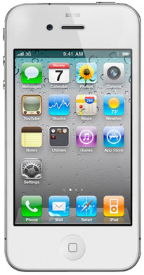 Apple iPhone 4 8 GB White