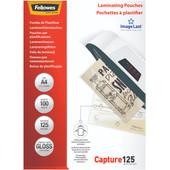 Fellowes Lamineerhoezen Capture 125 mic A4 (100 stuks)