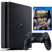 Sony PS4 Slim 500 GB + Call of Duty WW II