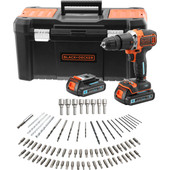 Black + Decker BCD18STD2KA-QW