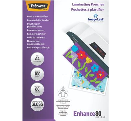 Fellowes Lamineerhoezen Enhance 80 mic A4 (100 stuks)