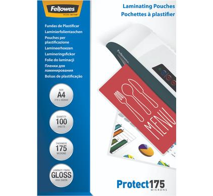 Fellowes Lamineerhoezen Protect 175 mic A4 (100 stuks)