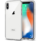 Spigen Liquid Crystal Apple iPhone X Back Cover Transparant