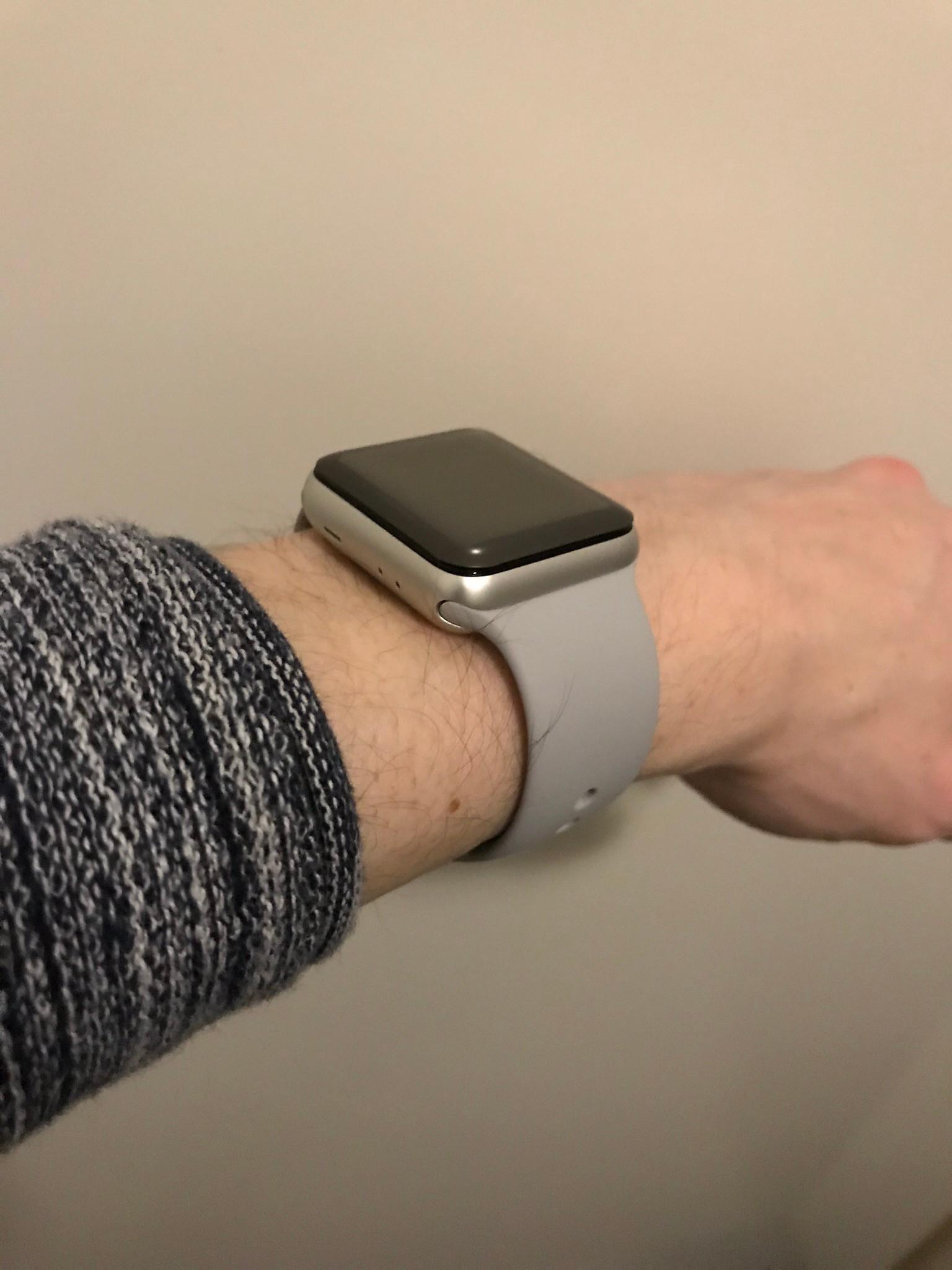 Apple Watch Series 3 38mm Space Gray Aluminium/Grijs