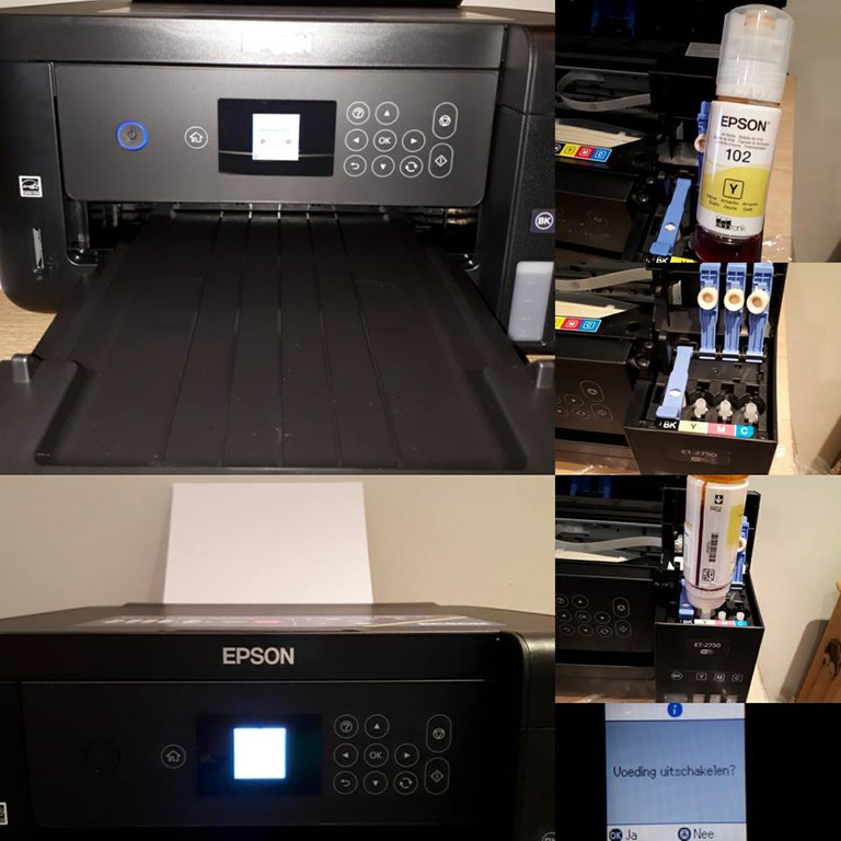Reviews over Epson EcoTank ET-2750 - Coolblue - Voor 23 59u