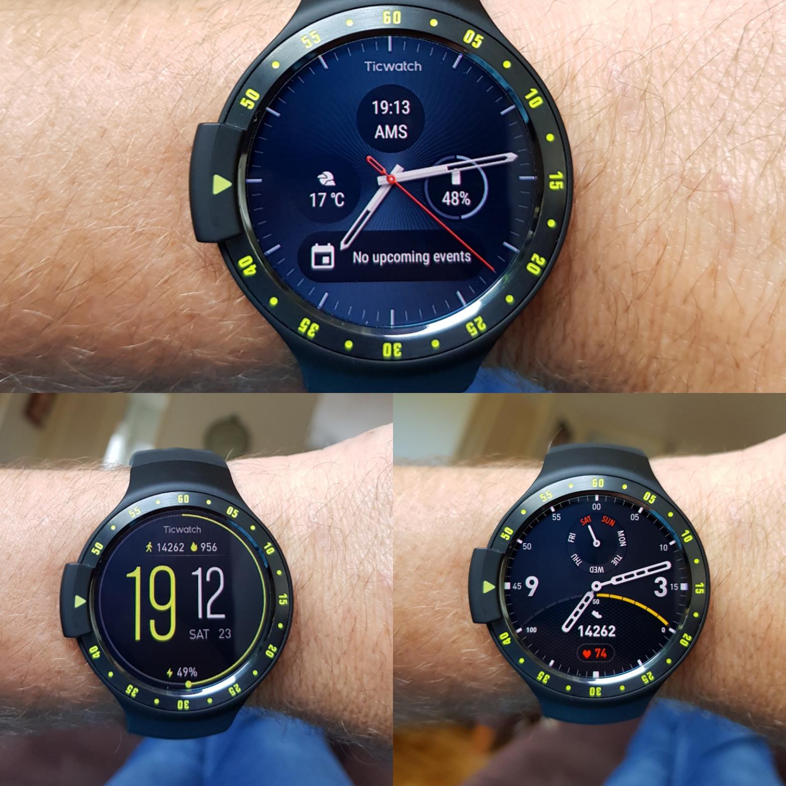 Ticwatch S Smartwatch Aurora