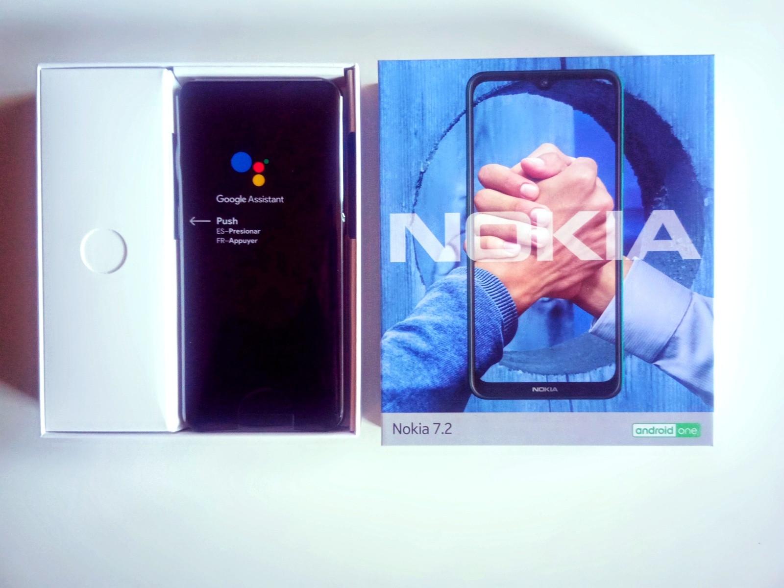 Nokia 7.2 128GB Grijs