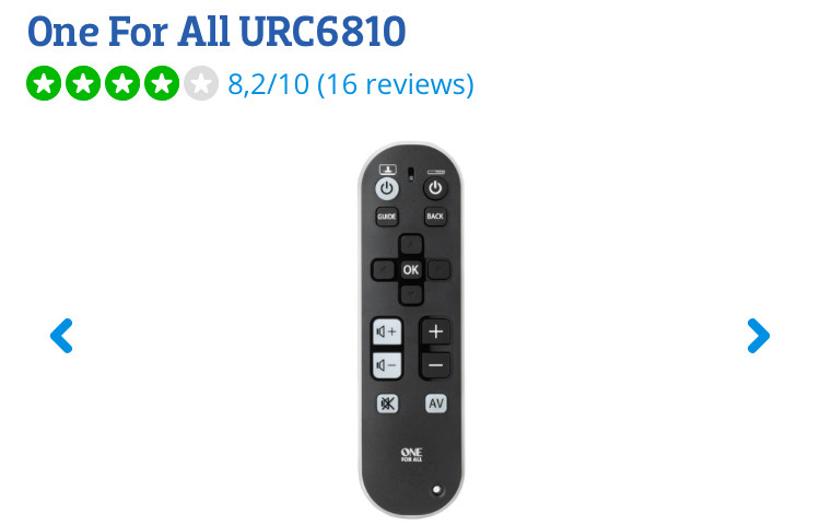 One For All URC6810