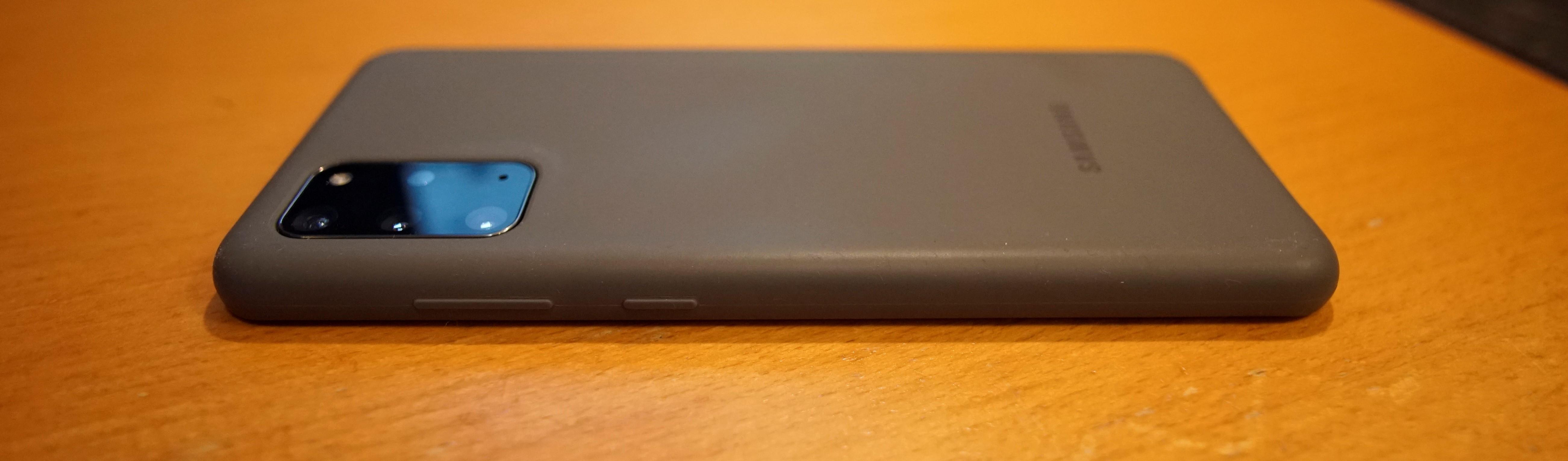 Samsung Galaxy S20 Plus Silicone Back Cover Zwart