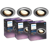 Philips Hue Centura Inbouwspot White & Colour Rond aluminium 3-Pack