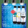SodaStream Hipster Fuse Bottles 1 liter 3-pack