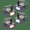 Beamz LED Mini Strobe Set 4pcs. W / R / Y / B