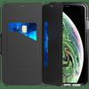 Tech21 Evo Wallet Apple iPhone Xs Max Book Case Zwart