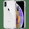Spigen Ultra Hybrid Apple iPhone Xs/X Back Cover Transparant