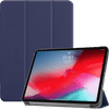 Just in Case Smart Tri-Fold Apple iPad Pro 11 Inch (2018) Book Case Blauw